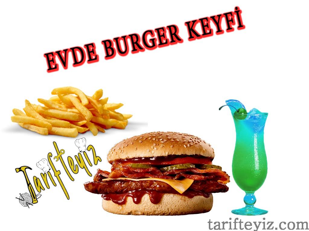 Süper Burger - Kurban Etinden Burger